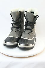 Sorel Caribou Womens Insulated -40° Waterproof Pac Boots Sz.8 Shale/Stone