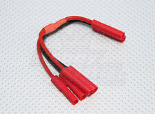 4mm HXT HARNESS 2 BATTERIES IN PARALLEL LIPO BATTERY CHARGER ADAPTER