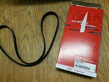 Kia picanto hyundai I10 fan belt drive belt v côtelé ceinture véritable nouveau 2521204011
