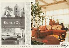 Publicité 2000  (Double page)  ROCHE BOBOIS magasin de meubles