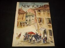 1949 JULY 23 NEW YORKER MAGAZINE - BEAUTIFUL FRONT COVER FOR FRAMING- J 1357