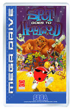 SPOT GOES TO HOLLYWOOD MEGA DRIVE FRIDGE MAGNET IMAN NEVERA