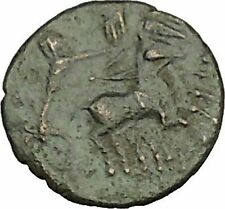 CONSTANTINE I the GREAT Cult  Heaven Horse Chariot Ancient Roman Coin i40247