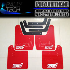 SUBARU IMPREZA RALLY TECH MUDGUARD MUD FLAP GD WRX STI 02 03 04 05 06 07 SPEC C