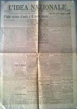 L'IDEA NAZIONALE DEL 24 MARZO 1918  - L'OFFENSIVA SUL FRONTE OCCIDENTALE - 595