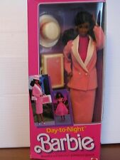 Day to Night Barbie, African-American version  NRFB, 1984