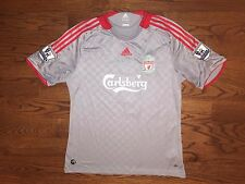 Men's XL adidas CLIMA365 Liverpool 2008-09 Robbie Keane #7 Soccer Jersey