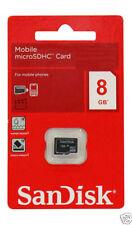 *100% Original* Sandisk 8 GB - Mircro SDHC - Micro SD Memory Card / COD