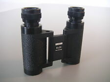 CARL ZEISS WEST GERMANY 8x20 COMPACT FOLDABLE BINOCULARS, OPTICS ARE PERFECT.