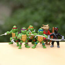 6x Movie Teenage Mutant Ninja Turtles TMNT Action Figure Doll Kids Xmas Toy Gift