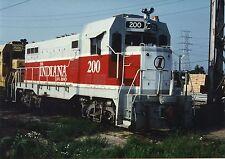 GG900Q RP 1970s? THE INDIANA RAILROAD TRAIN ENGINE #200