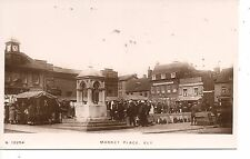 ELY, RP of The Market Place, Stalls, etc. c.1910. MINT, UNUSED. (B8)