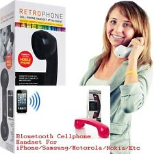 Bluetooth Handset works with all mobile phone & tablet PC equipped w/ Bluetooth