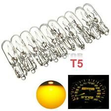 10x 12V 2W AUTO CAR DASH LIGHT LAMP MINIATURE BULB INDICATOR FOR T5 286 AMBER