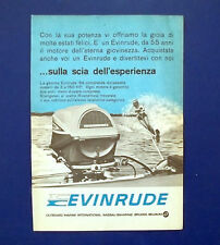 A758-Advertising Pubblicità-1964-MOTORI EVINRUDE