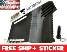 Strike Industries Black Featureless MEGAFIN Grp with New Allen Bolt CA angle