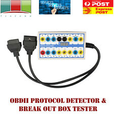 BRAND NEW High Quality NEW OBDII OBD2 Protocol Detector & Break Out Box Tester