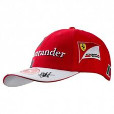 Scuderia Ferrari Red Sebastian Vettel Formula 1 2017 Adjustable Team Hat