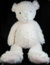 Jellycat Pink Whisper Bear Plush Soft Toy Soother Comforter Curly Fur Baby