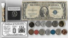 Silver Dollar Barber Mercury Indian Liberty WWII War Coin US Collection Lot Gold