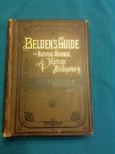Book BELDEN'S GUIDE TO NATURAL SCIENCE, HISTORY, BIOGRAPHY & GENERAL LITERATURE