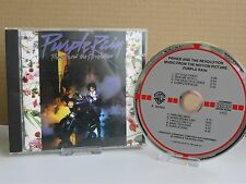 *W.GERMANY TARGET RED/GREY RARE* - PRINCE- Purple Rain Soundtrack CD full silver