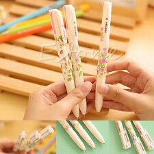 3PCS Summer Story Beautiful Multicolor Ball Point Pens 4 Colors in 1 Pen