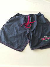 UMBRO VINTAGE 90'S BLUE PINK  NYLON SOCCER RUNNING Shorts Mens LARGE USA MADE