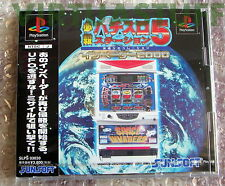 Hissatsu Pachi-Slot Station 5, Invaders 2000, Sony, Playstation, NTSC, JAP, new