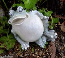 Latex only leaning frog mold plaster concrete casting garden mold mould