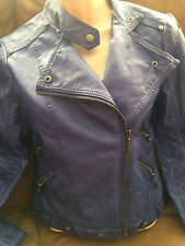 Forever 21 faux leather motorcycle jacket size small