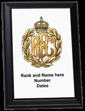 Personalised Wall Plaque - Royal Flying Corps, RFC