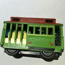 Vintage San Francisco Cable Car--Powell And Hyde Sts. Pull Toy!