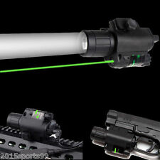 Combo Green Laser Sight Led  Flashlight Tactical fit For Rifle Glock Gun Pistol