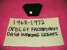 1968-1972 OPEL GT FACTORY OEM INSTRUMENT DASH WARNING LIGHTS RARE FREE SHIPPING!