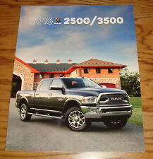 Original 2016 Dodge Ram Truck 2500 3500 Deluxe Sales Brochure 16