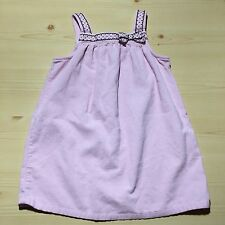 GYMBOREE GIRLS JUMPER DRESS CORDUROY PINK SIZE 5 T TODDLER~ADORABLE