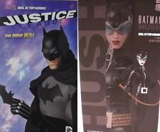 Medicom 1/6 Anime DC BATMAN Dark Knight NEW 52 and Catwoman HUSH Lot of 2 MIB