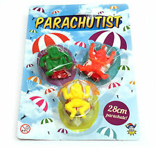 PARACHUTERS THROW FLY TOY BOY GIRL GIFT BIRTHDAY PARTY BAG FILLER LOOT
