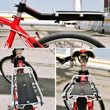 Mountain Bicycle Quick Release Tail Stock Seat Post Pannier Rear Cargo Rack NJ
