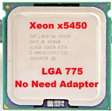 Intel Xeon X5450 3GHz CPU Compatible to LGA775 equal to Q9650 Processor