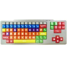 ENFANTS USB CHROMO-CODÉ BAS ÉTUI CLAVIER DE PC ÉDUCATIONNEL BIG BOUTONS