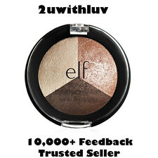 E.L.F. COSMETICS ELF STUDIO BAKED EYESHADOW TRIO PEACH PLEASE #81291