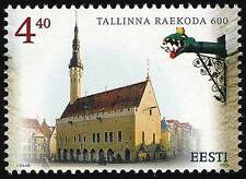 Stamp of ESTONIA 2004 -  600th Anniversary of Tallinn Town Hall / 297-13.05.04