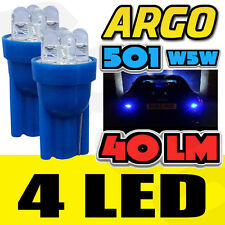 2X BMW 5 SERIES F10 520D 501 W5W BLUE INTERIOR COURTESY BULB LED SUPERLUX LIGHT