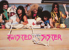 POSTER : MUSIC : TWISTED SISTER - GROUP POSE - FREE SHIPPING !  #15-351   LC16 H