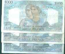 FRANCE 1000 FRANCS 1948. VF CONDITION.  ONE NOTE