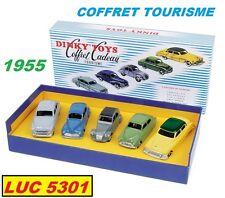 COFFRET CADEAU TOURISME 1955 5 VÉHICULES  PAR  DINKY TOYS / ATLAS