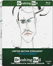 BREAKING BAD, Season 2 (3 Blu-ray Discs, Steelbook U.K.) NEU+OVP