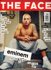 "2 Copies of ""The Face"" Magazine. Eminem Cover. FREE Stickers!"